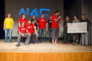 NFC4 - Scheckübergabe