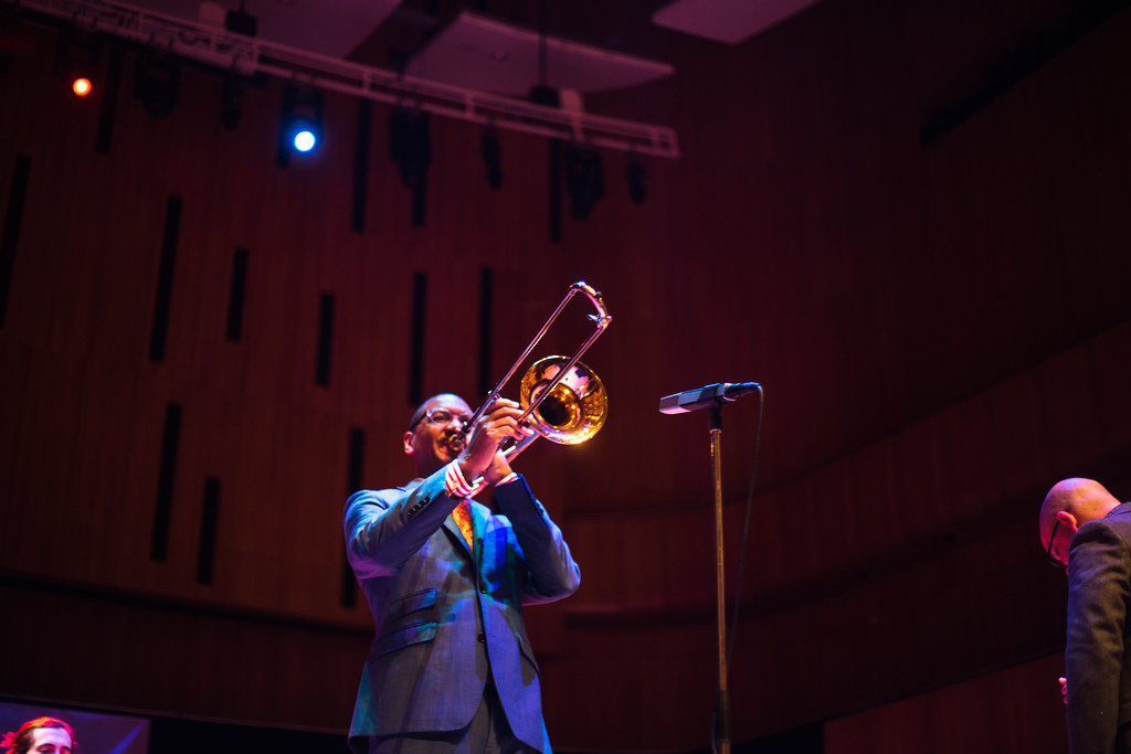 Delfeayo Marsalis & The UNO Jazz Band @ Holland Stages | 10.17.15