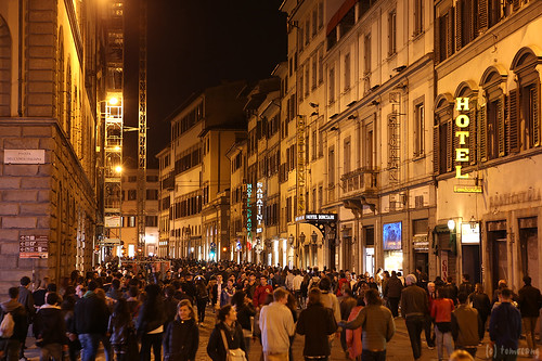 "Notte Bianca Firenze 2015 - ""THE BLACK NIGHT"""