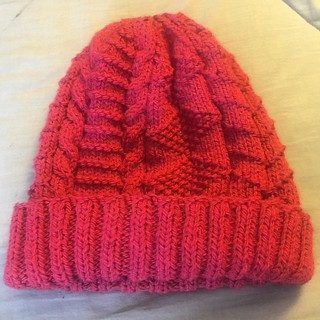 Not a hat for Stan, but for the Seaman's Church Institute. #knitting #charityknitting #seamenschurchinstitute #vogueknitting #northlightfibers