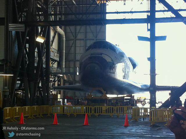 Thu, 11/01/2012 - 13:32 - Indide NASA's Vehicle Assembly Building (VAB) - November 01, 2012 1:32:49 PM - Titusville, Florida (28.5859,-80.6508)