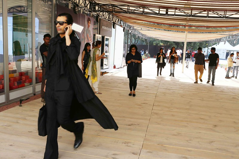 City Style – People Watching, India Fashion Week, Okhla