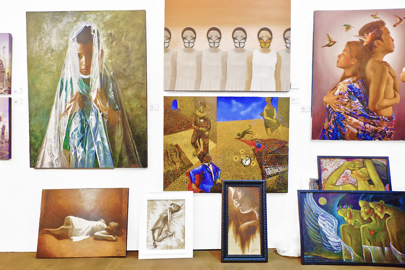 Manilart 2015 Various paintings from Galerie Artes