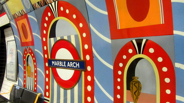 London Tube...in colours!