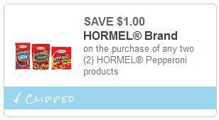 Hormel Pepperoni at Dollar Tree