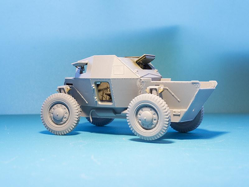 Projet Normandy : Dingo MK.III // Miniart // 1/35 22628303803_e28a7488d1_c