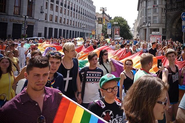 Прага. Гей-парад