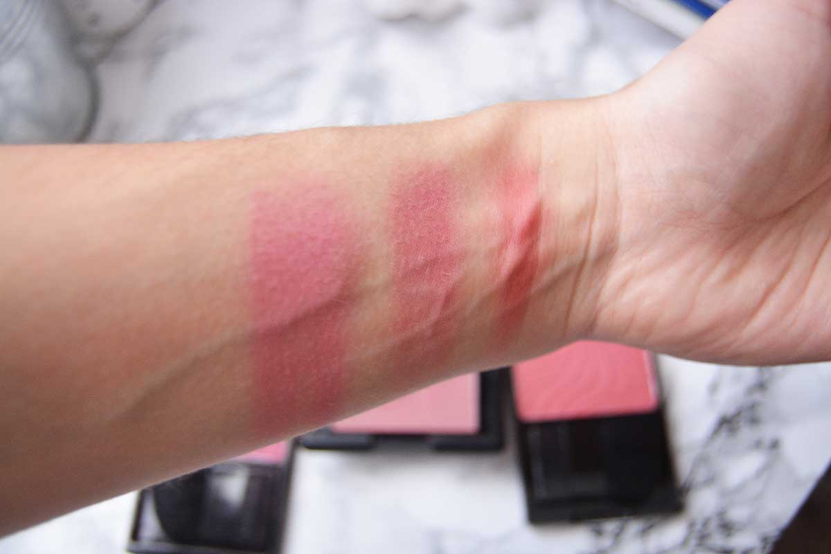 Three Fall Blushes under $5!