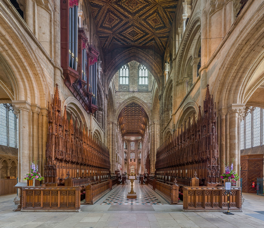 Peterborough Cathedral - The choir. Credit: David Iliff