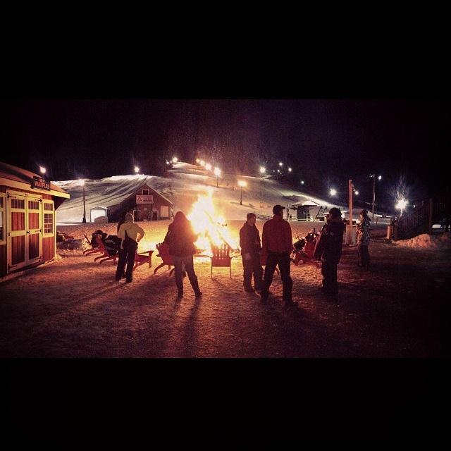 West Mt. fire pit