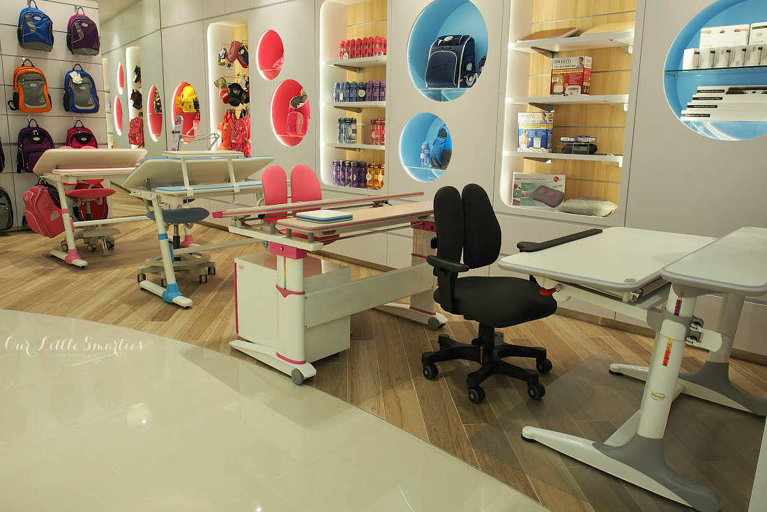 shopping for ergonomic study desk and chair at ergoworks
