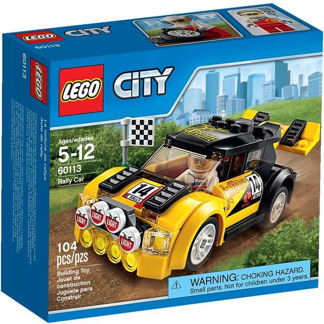 LEGO City 2016: 60113 - Rally Car