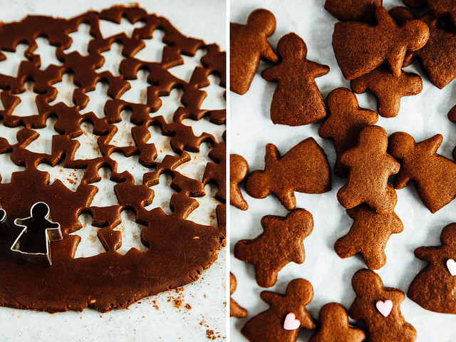 Coconut oil gingerbread folk