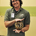 Aaron and Lil the Armadillo by photofest2009 - Kathy Newton