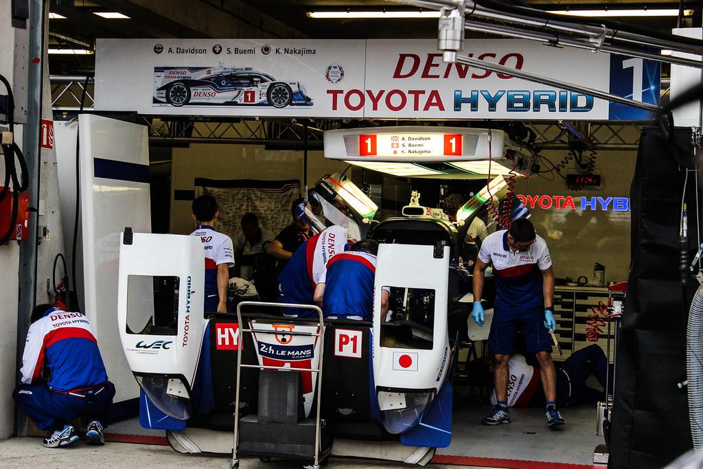 Toyota #1 Garage
