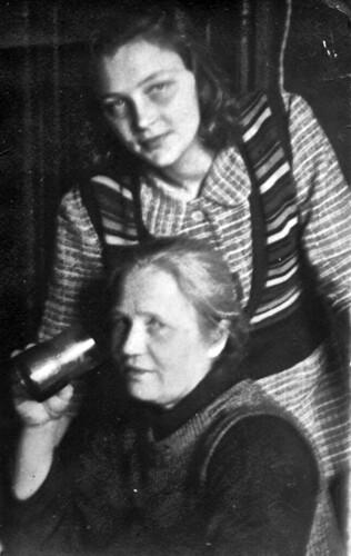 Анна Васильевна и Саша