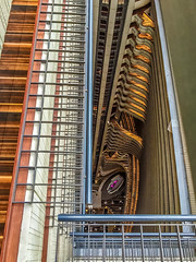 Looking Down from the Top Floor of the Marriott Marquis