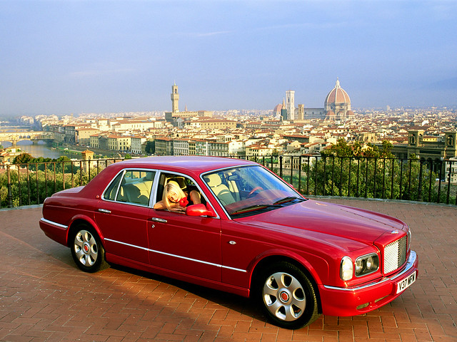 Bentley Arnage Red Label 1999 года