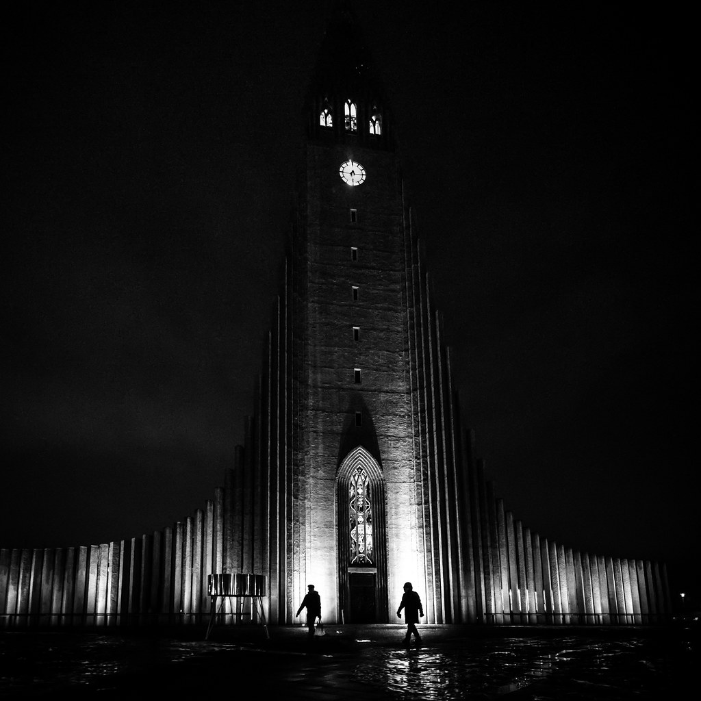 The Cathedral, Reykjavik, Iceland picture