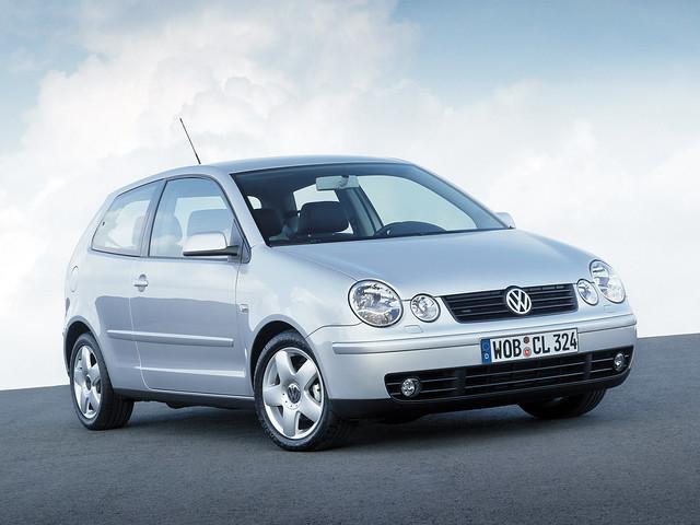 Трехдверный Volkswagen Polo (Typ 9N). 2001 – 2005 годы