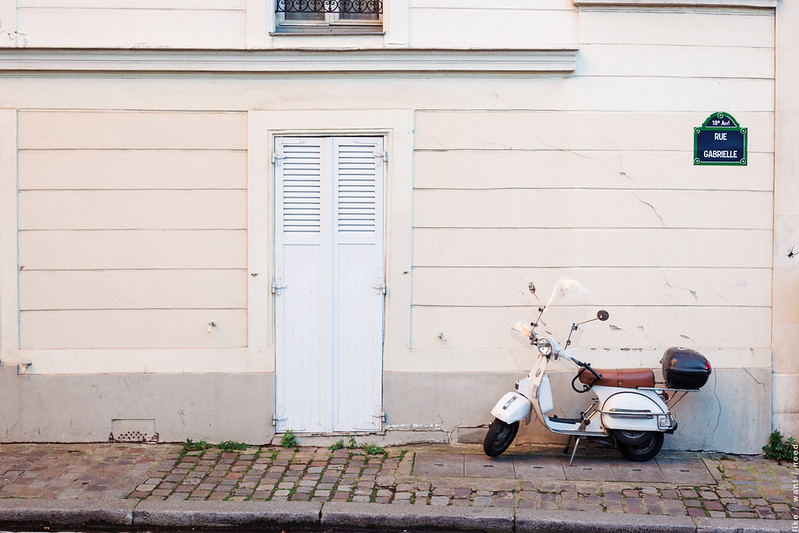 Scooter, Rue Gabrielle