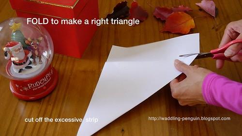 搞张正方形的纸,不然就长方形的纸折出个直角