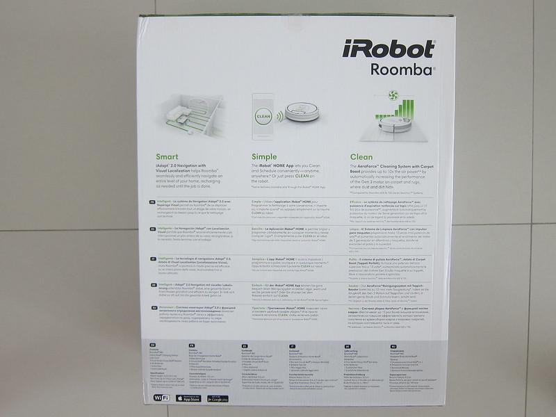 iRobot Roomba 980 - Box Back