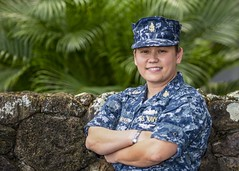 Senior Chief Petty Officer Raina Hockenberry, a native of