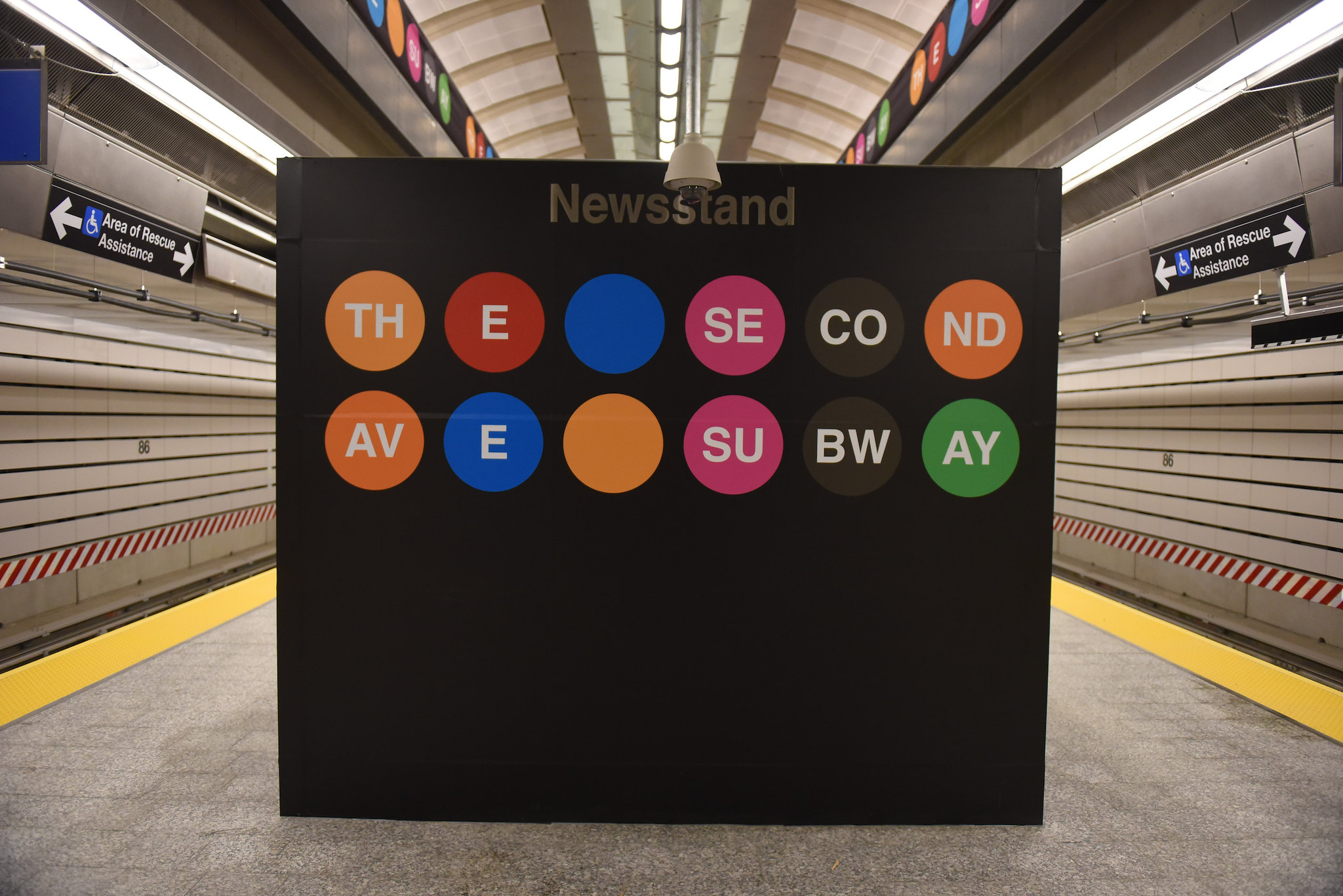 86th Street Second Avenue Subway Station