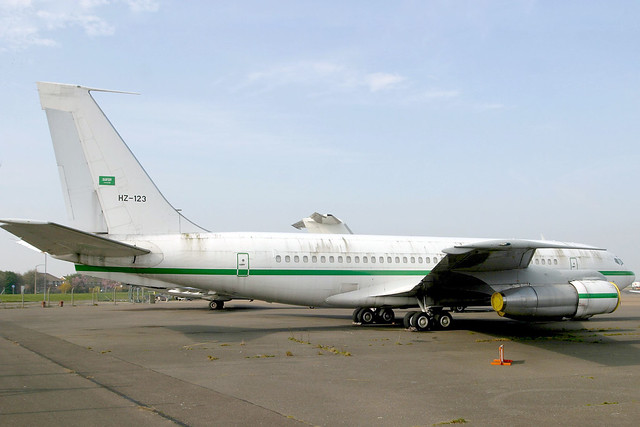 HZ-123 Boeing 707-138B Saudi Government