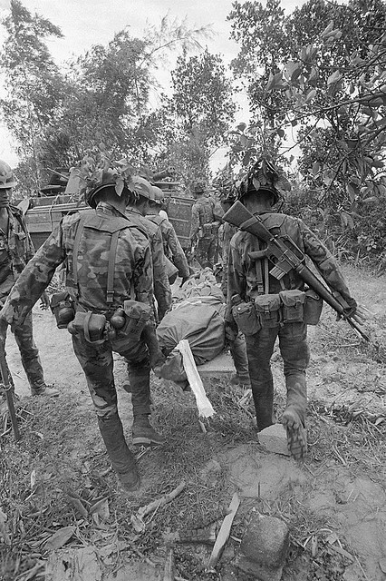 Quang Tri 1972 - South VietnamThe battle for Quang Tri City is over for some participants