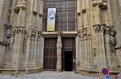 Auch, la cathedrale
