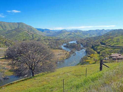 california fresnocounty sierranevadafoothills usa vista