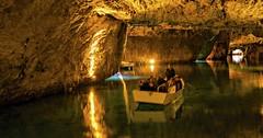 St. Leonard - největší podzemní jezero u Sionu