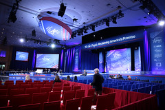 CPAC stage