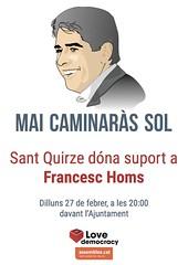 Concentració Homs 27 febrer