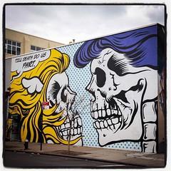 D*Face @ Bushwick / Brooklyn - New York...  Photo : Lionel Belluteau Plus de photos sur http://www.unoeilquitraine.fr/  @dface_official #dface #brooklyn  #bushwick #bushwickcollective #new_york #unoeilquitraine #streetart #art #streetartnyc #lionelbellute