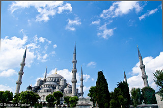 תמונה של The Blue Mosque ליד Eminönü. turkey istanbul mosque bluemosque sultanahmet sultanahmetmosque