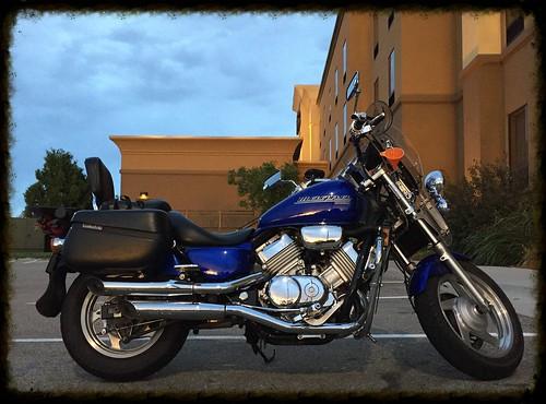 sunset honda roadtrip idaho motorcycle hamptoninn magna motorcycleroadtrip mountainhome mototrip