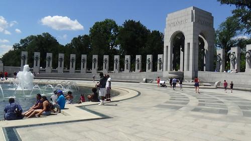 Washington DC WW2 Memorial July 15 10