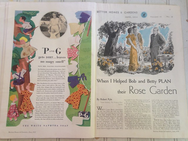 Magazine Monday // Better Homes and Gardens, June '34
