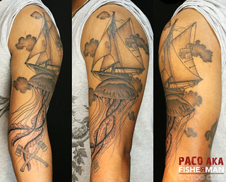 Paco tatouage fisherman tattoo club aix