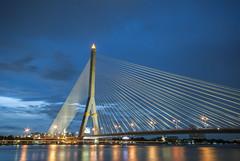 Rama 8 Bridge, Bangkok, Thailand
