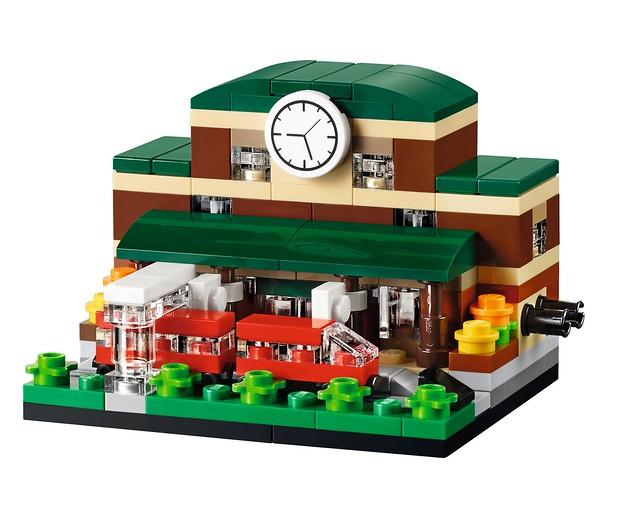 LEGO 40142 - Bricktober Train Station