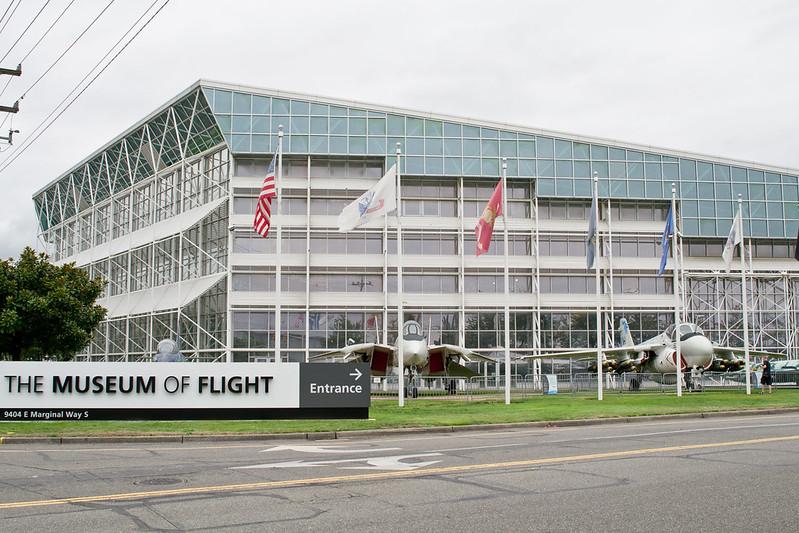 Seattle The Museum of Flight Outside