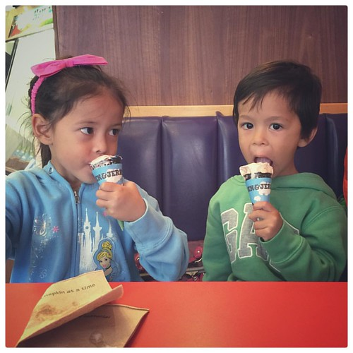 Ice Cream Time! #icecream #family #annarbor #Michigan #benandjerrys