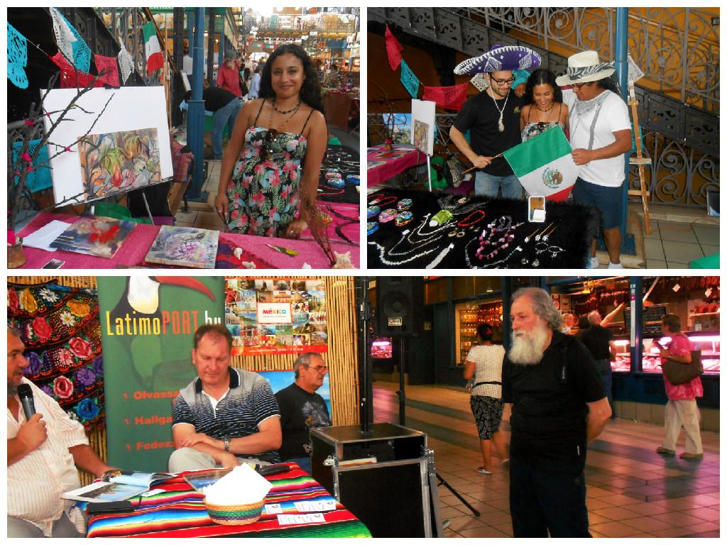 Días de México en el mercado central de Budapest.
