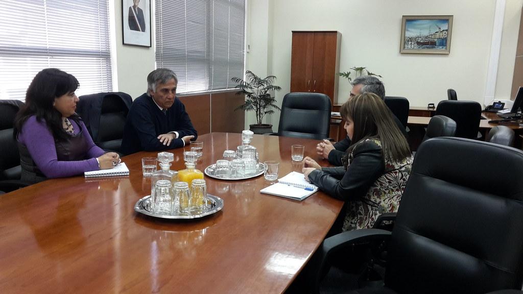 AFIICH visita y entrega apoyo a afuncionarios/as de la VI D.R. Rancagua - 23 Septiembre 2015