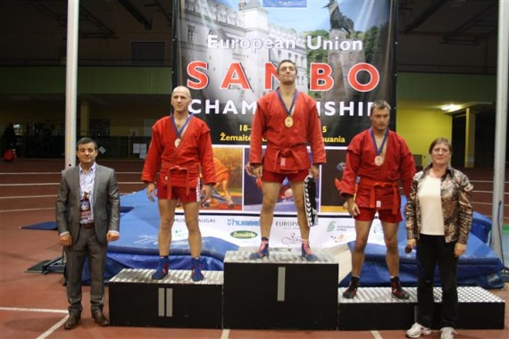 XI–asis Europos sąjungos šalių (ESŠ) SAMBO čempionatas