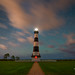 Bodie Island Lighthouse Under The Stars by Michael Ver Sprill